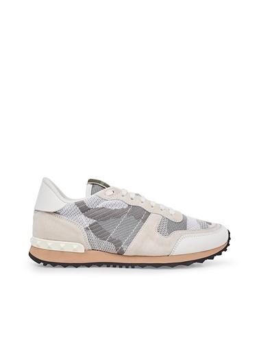 Valentino Sneaker Ayakkabı Erkek Ayakkabı S0723 Qrk 52X Beyaz